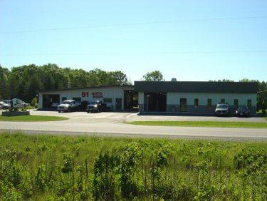 51 Auto Body Shop Exterior